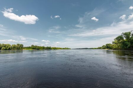 Wisla (Vistula) river near Torun, Poland