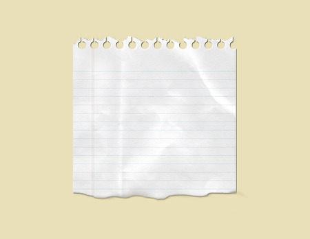 notebook paper: Blank White Note Paper