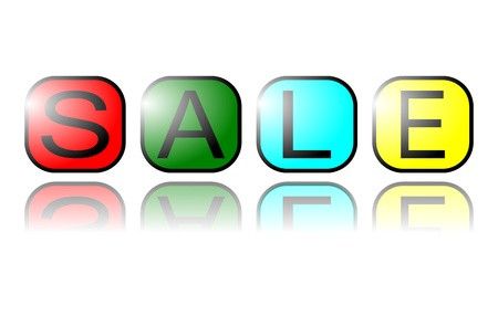 sell out: SALE TAG