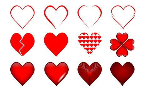 hearts Stock Vector - 16441605