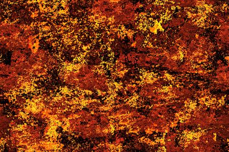 Seamless orange, autumn, grunge texture and background Stock Photo