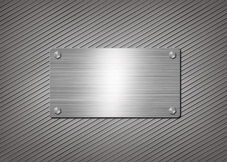 steel plate: shiny aluminum or steel plate is mounted on the wall
