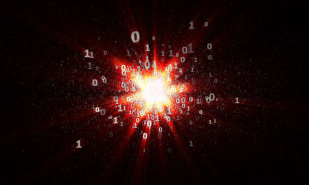 the explosion of binary stars in cyberspace