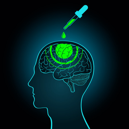 真実の血清の脳に洗脳、プログラミング、新しいデータを作ってスポイトから滴