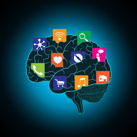 Mobile apps installed into the brain, replacing the mind, consciousness