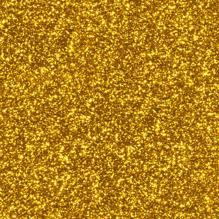 Background with bright gold glitter, texture. Pattern with shining fine gold sequins. Festive luxury golden background, design element