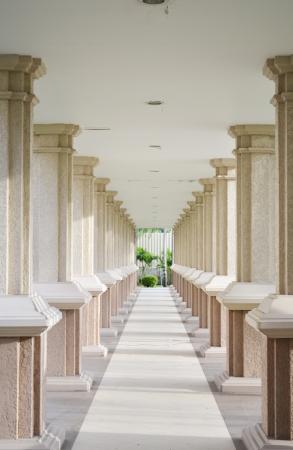 ethnology: School walkway buiding nice design
