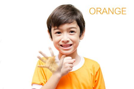Bitte Danken Ihnen Leid Kind Hand Gebärdensprache Auf Lizenzfreie ...