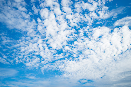 ozone: Blue sky with cloud ozone summer