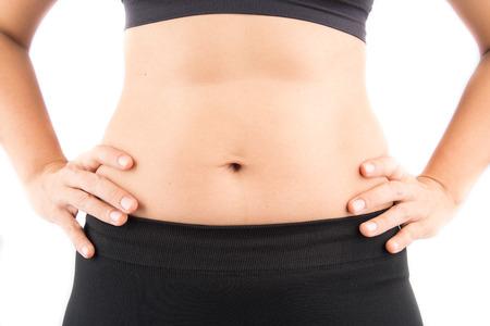 bod: Woman tummy mom body bod Stock Photo