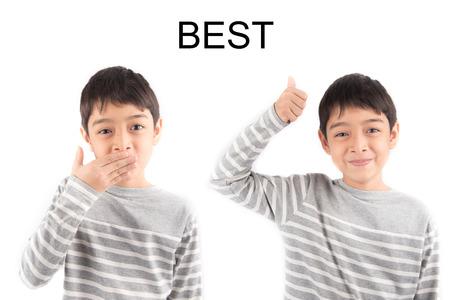 asl sign: BEST Sign language