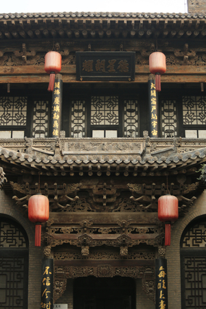 architectural building: Chinese ancient architectural building