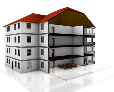 multifamily building floors photo