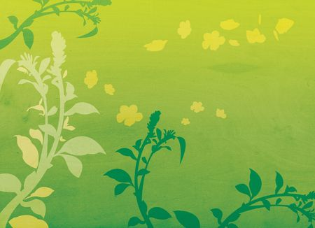 Floral Background Illustration illustration