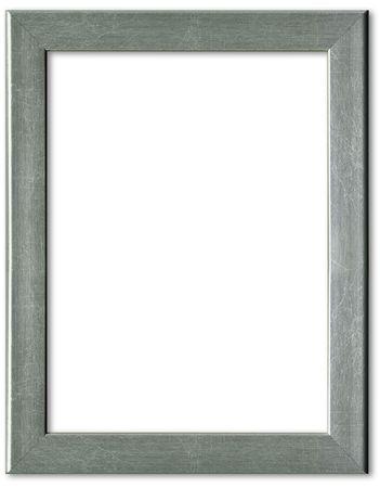 Silver picture frame border design