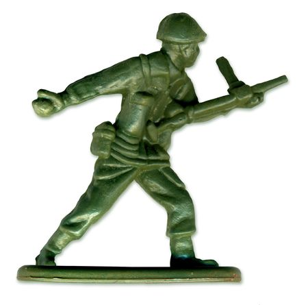 rifleman: Traditional Toy Soldier scanned in high resolution to allow for printing at large size and extreme detail.