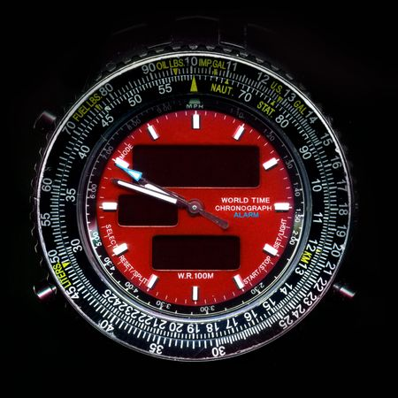 Watch Dials with Cronograph details background image photo
