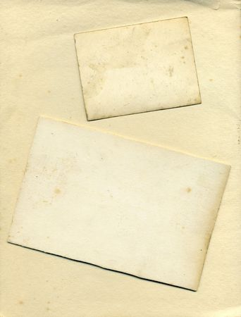 Vintage card background texture and edges Stock Photo
