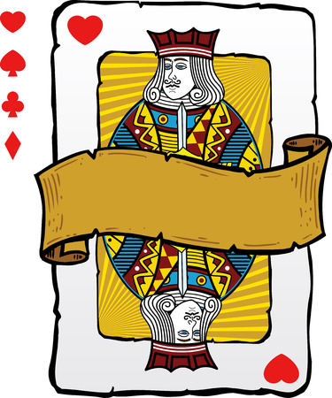 Playing card style Jack illustration. Vector format fully editable. Other playing card illustrations in my full portfolio.