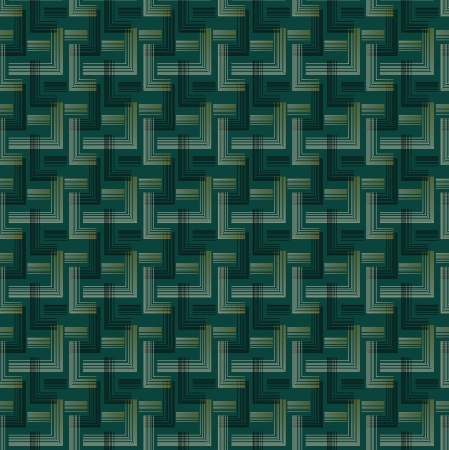 An Art Deco style background pattern containing a seamless repeatable swatch. Ilustração