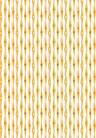 A Colorful Retro Party Pattern Stock Photo