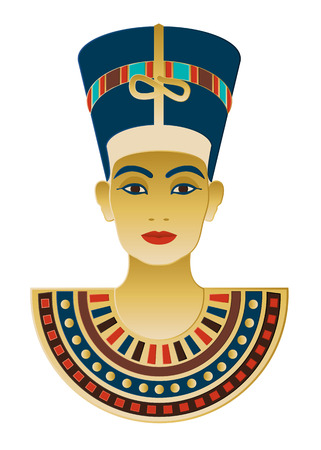 A vector illustration inspired by the treasures of historical Egypt. Illustration