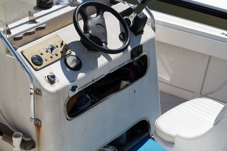 Controls for the captain of the ship prior to sailing out to sea