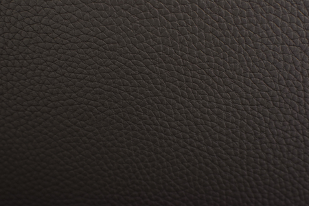 Brown leather texture background in close-up Stock Photo
