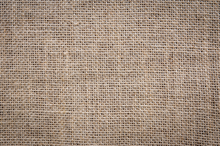 High quality texture of natural burlap sack structure in close-up Stock Photo