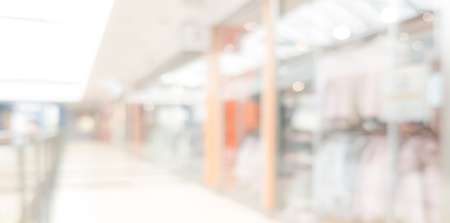 Wide banner background for shopping in the mall advertesiment ( copy space)
