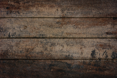 Abstract old brown wooden table textured background.