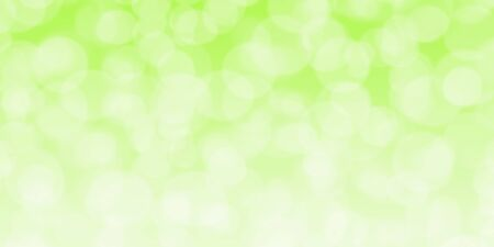 Abstract green white background with beautiful bokeh lights iudeal for you project or banner