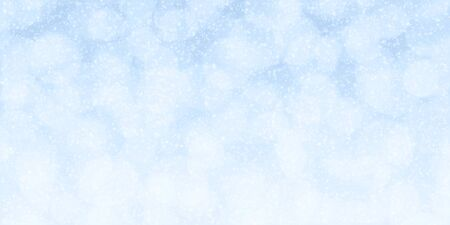 Winter holidays abstract background with beautiful bokeh lights and snowflakes ideal for your project or banner
