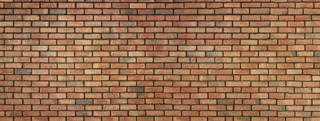 Large red brick interior wall - ideal background for your project or decoration (high details)