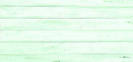 Top view of old green painted and wide wooden table as rustic or texture background (high detail) Stockfoto
