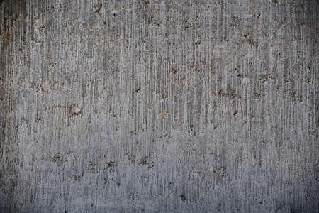 Full Frame texture of old and weathered gray concrete wall for your project background (high details) Stock Photo