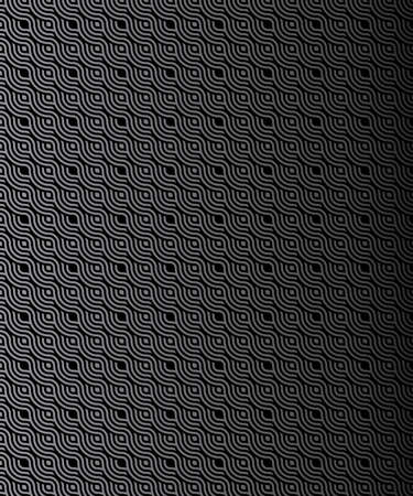 black and white circles background. light silver metal background with round hole.