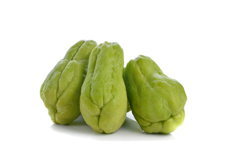 chayote: Chayote isolate on white background