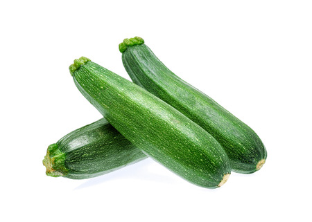 zucchini isolated on a white background Stock Photo