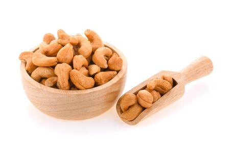 cashew nut isolated on white background
