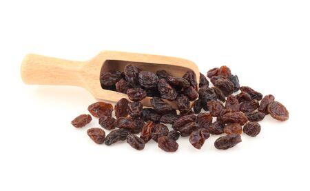 Raisins isolated on white background Standard-Bild