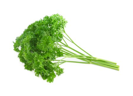 parsley isolated on white background Zdjęcie Seryjne