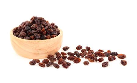 Raisins isolated on white background Archivio Fotografico