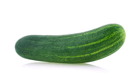 cucumber isolated on white background Standard-Bild