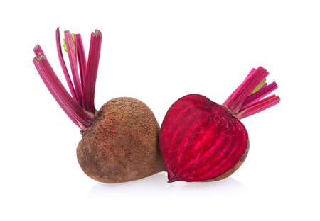 beetroot isolated on white background Standard-Bild