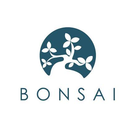 Bonsai simple logo design inspiration