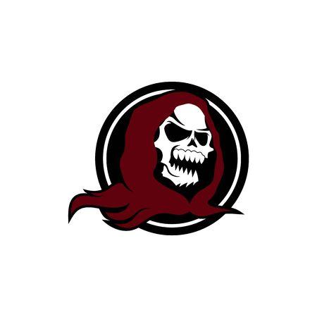 Killer Skull Badge logo design inspiration Logo