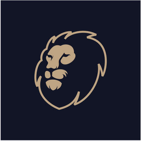 lion head  design vector illustration