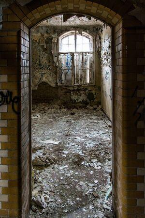 The Lost Place Beelitz Heilstätten near Berlin