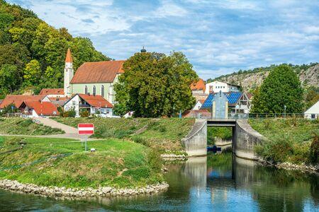 The Ludwig-Danube-Main Canal in Kelheim an der Donau